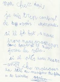 Adrien 8 ans ce2